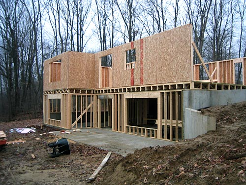 Carpentry Contractor - House Framing