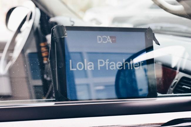 DCAcar Washington D.C. Car Service. Lola Pfaehler.