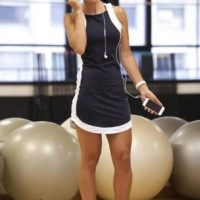 Moda fitness das academias