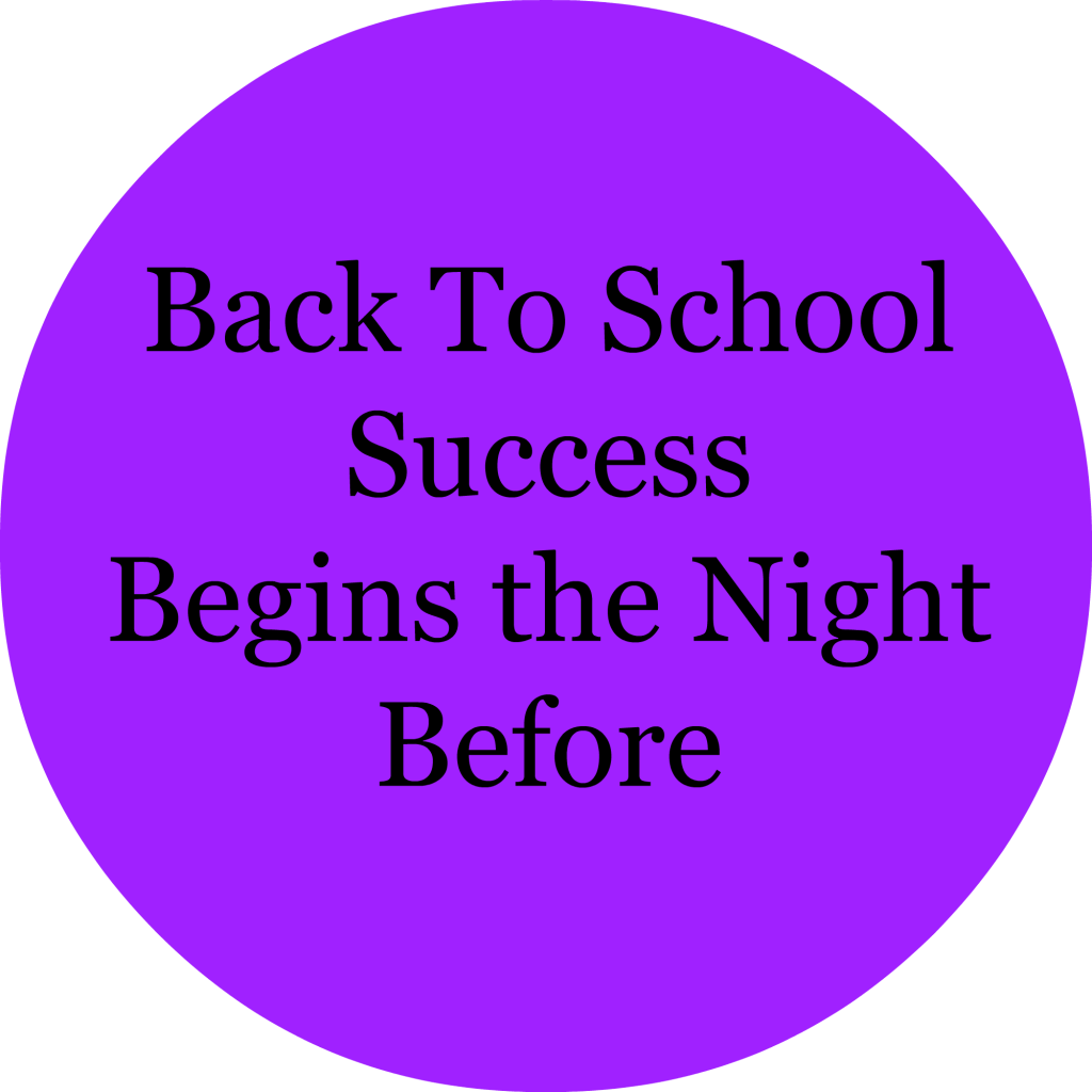 Success Begins the Night Before
