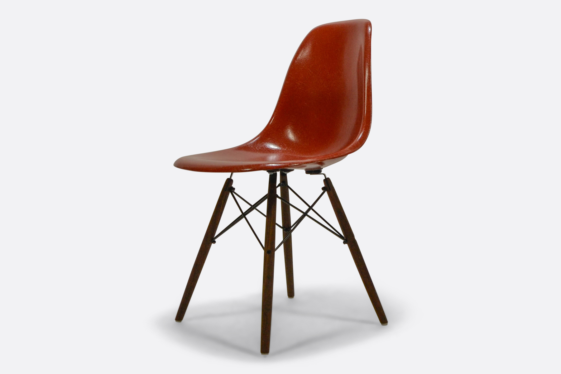 Eames Dsw Vintage Eames Fiberglass Side Chair Terracotta