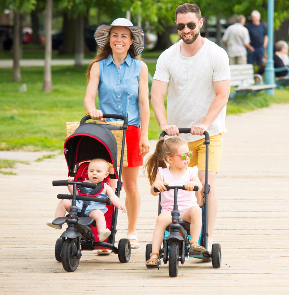 Smart Trike Roze Travel Accessories For Baby The Best Trike To Take On Holiday