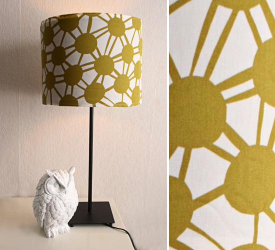 diy - lampshade cover