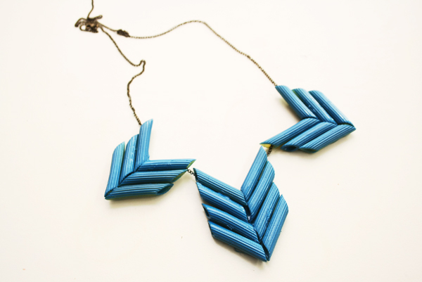 diy - penne necklace