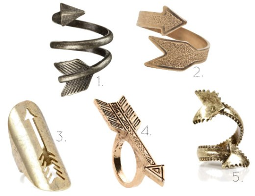 Love this - Arrow rings