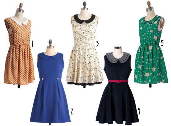 Love this - Peter Pan collar dresses