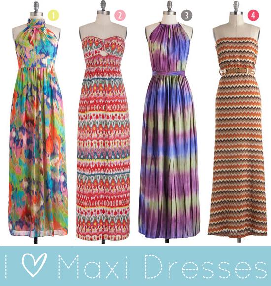 I love maxi dresses