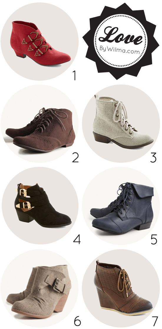 love this - cute ankle boots