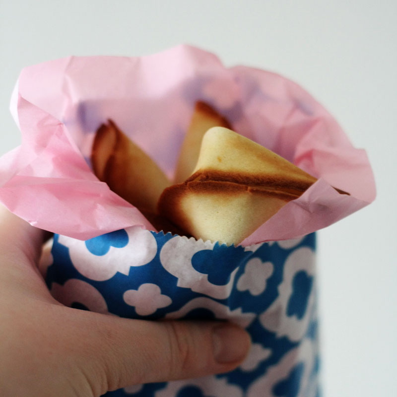 Recipe – Say it with fortune cookies!