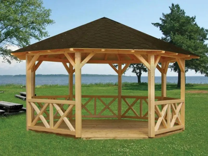 Holz Pavillon 3 X 4 Diy Gazebo Kits For Sale | Bzbcabinsandoutdoors