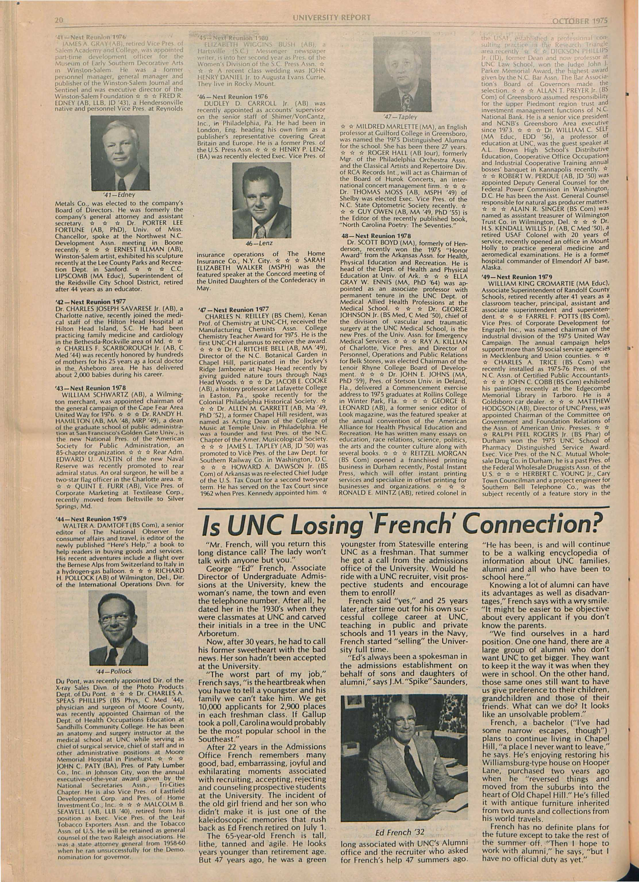 Vasco London Instant Live The University Report October 1975 Page 19