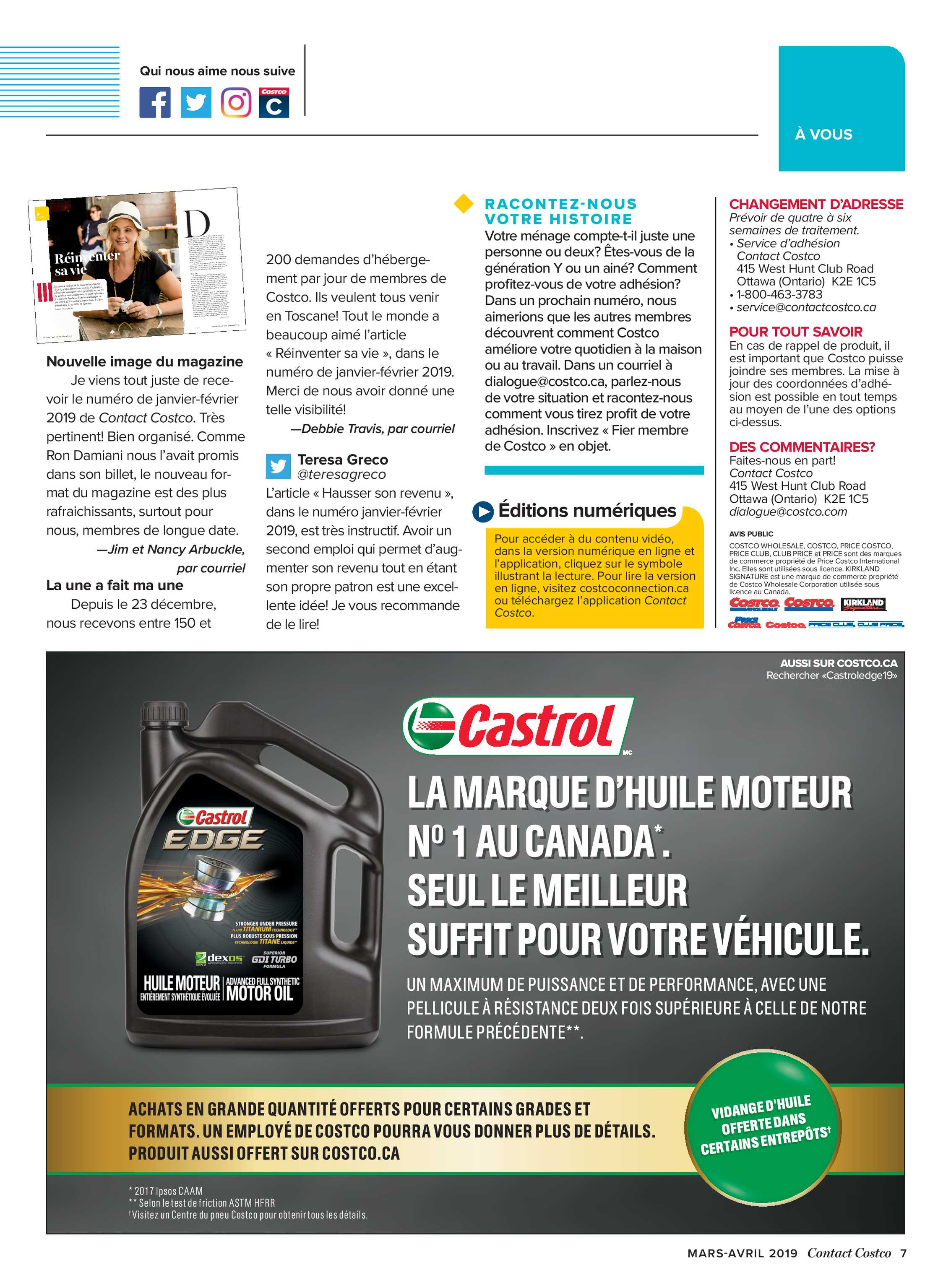 Meubles à Donner Ottawa Contact Costco March April 2019 Page 7