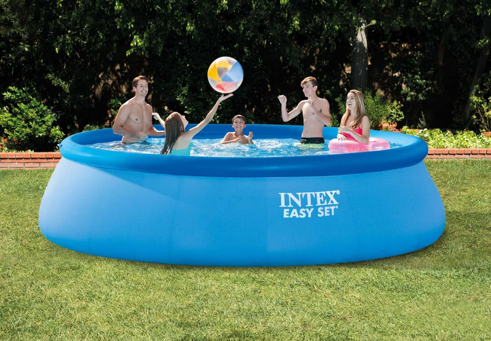 Zwembad 4 57 Piscine Intex Easy Set 4 57 X 1 07m C Piscine