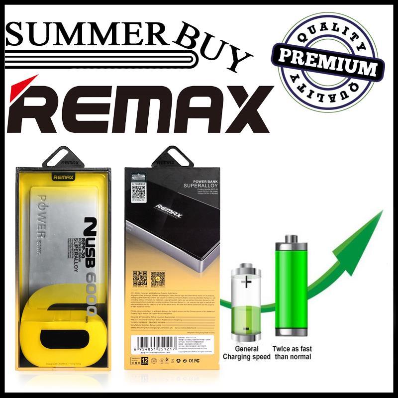100 Genuine REMAX 6000mAh Super allo (end 3/4/2019 115 PM)