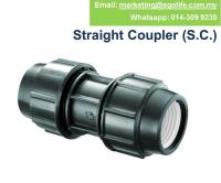 1pcs HDPE POLY Pipe PP FITTINGS STRA (end 4/26/2019 4:15 PM)