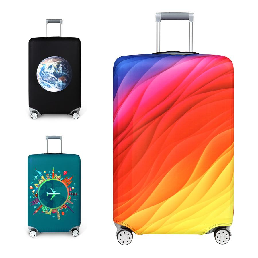 2018 Travel Bags 2018 New Design Luggage Protector Cover Travel Suitcase Special Handle