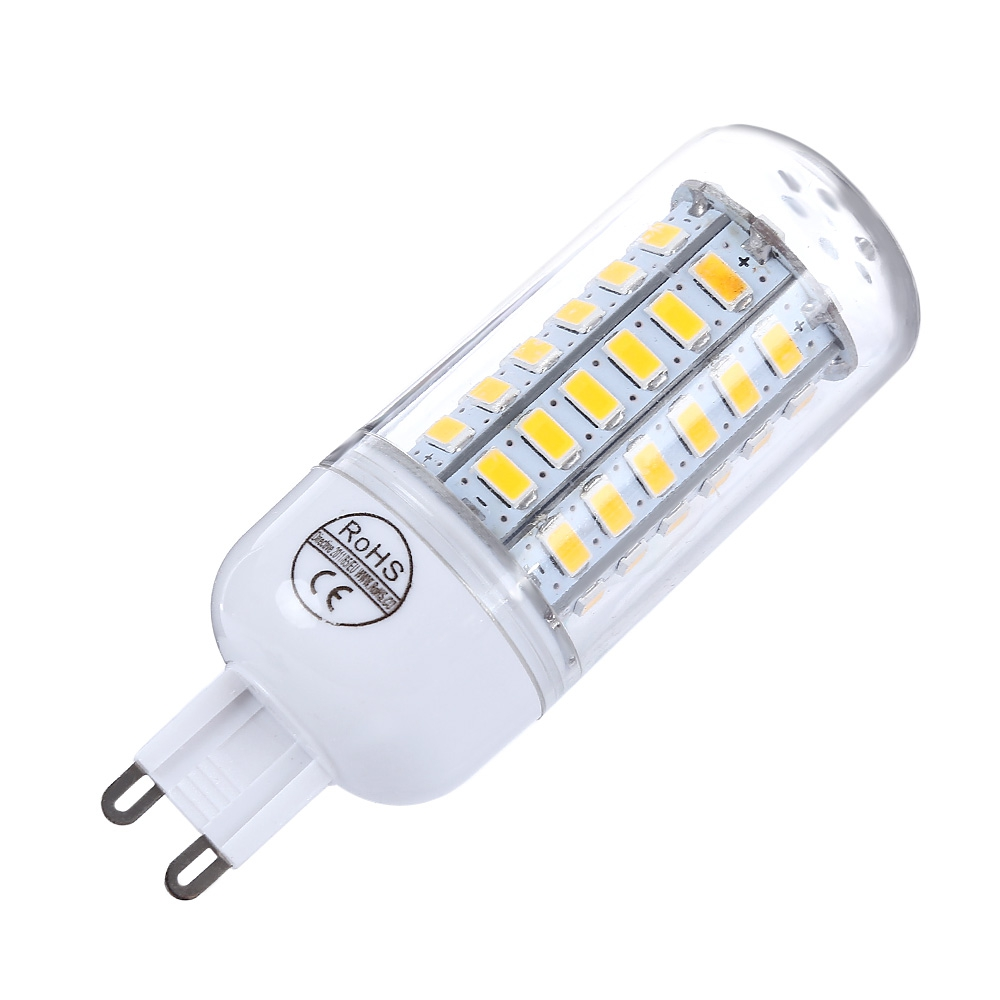 Led G9 5w Ac 220v G9 5w 450 500lm Smd 5730 Led Corn Light With 56 Leds