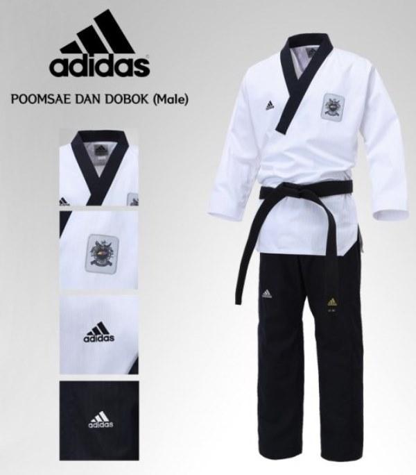 Adidas Taekwondo Karate Dobok Poomsa (end 3/21/2019 447 PM)