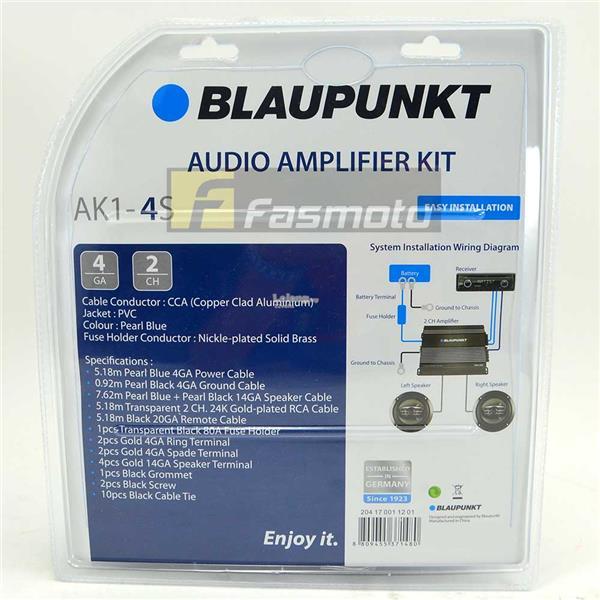 BLAUPUNKT AK1-4S 2 Channel 4 Gauge (end 10/12/2019 915 PM)