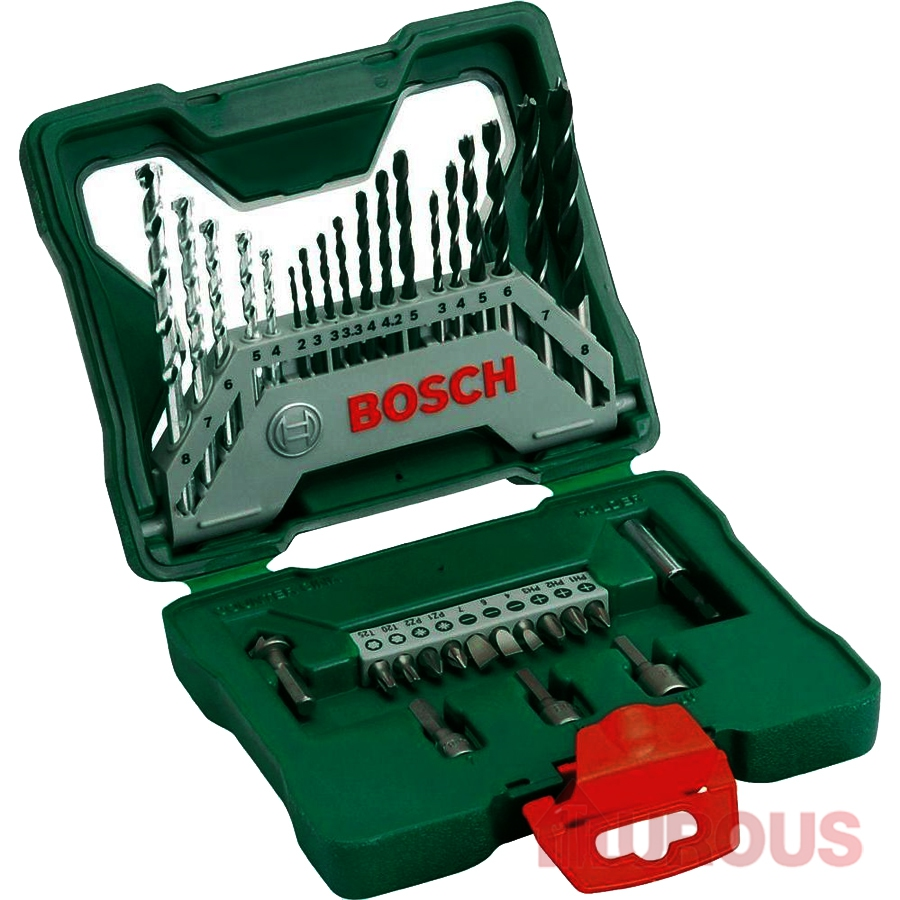 Bitset Bosch Bosch X Line 33pcs Screw Bit And Drill Bit Set With Free Gift 2607019325