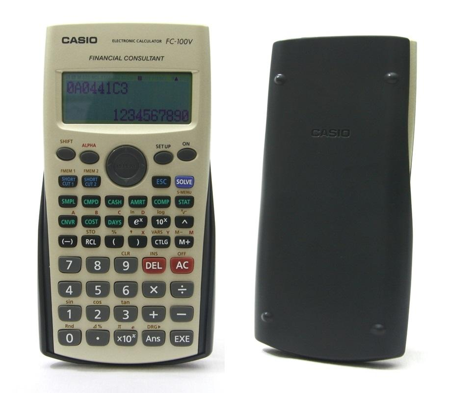 Casio Financial Calculator (end 8/4/2018 1018 PM)