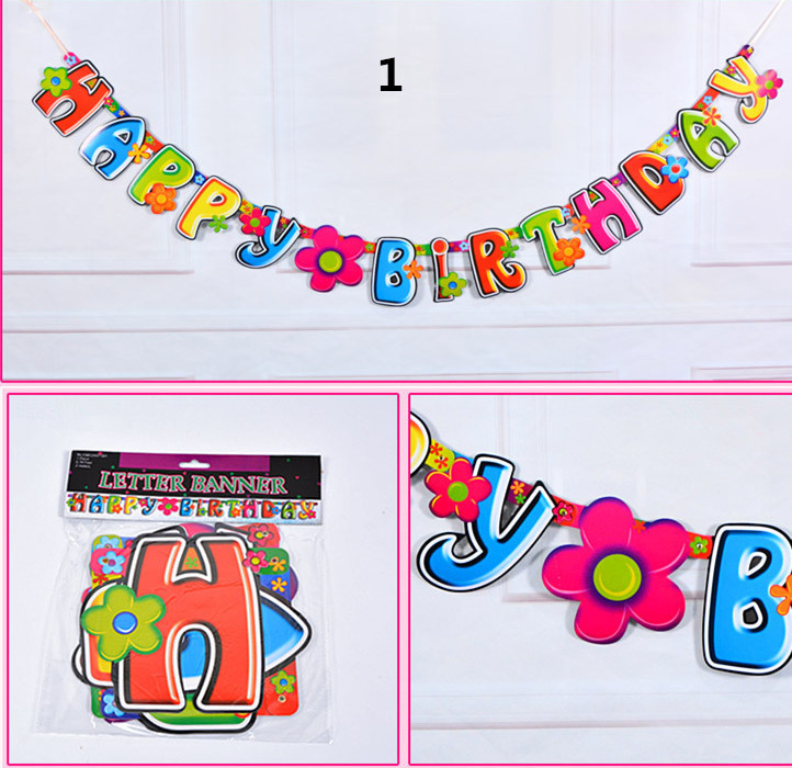 Happy Birthday Letters Alphabets Ba (end 3/27/2021 1200 AM)