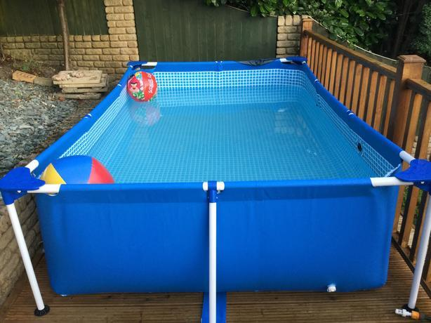 Intex Zwembad Frame Pool Diameter 3 05 M Intex Above Ground Pool Metal Frame (end 5/13/2018 12:15 Pm)