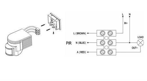 pir motion sensor electronicslab