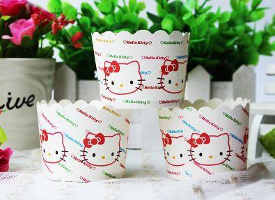 S Hello Kitty Stripe Cupcake Line End 11 30 2019 359 Pm