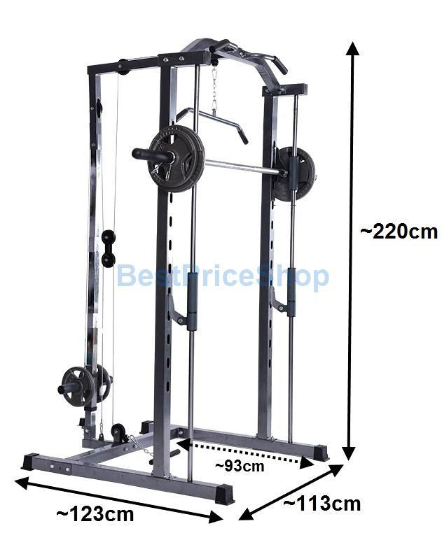 Smith Machine Squat Power Rack Stati End 4 28 2018 619 Pm