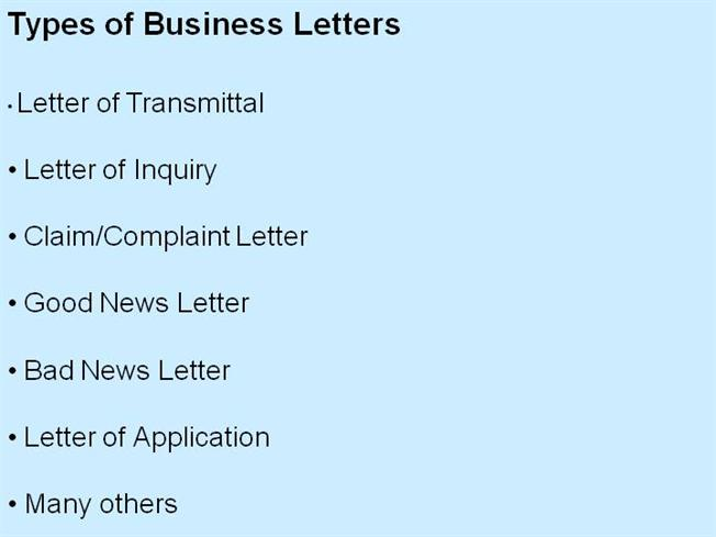 Types of Business LettersauthorSTREAM - Proper Complaint Letter Format
