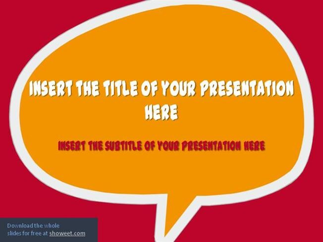Speech Bubbles \u2013 Powerpoint TemplateauthorSTREAM - bubbles power point