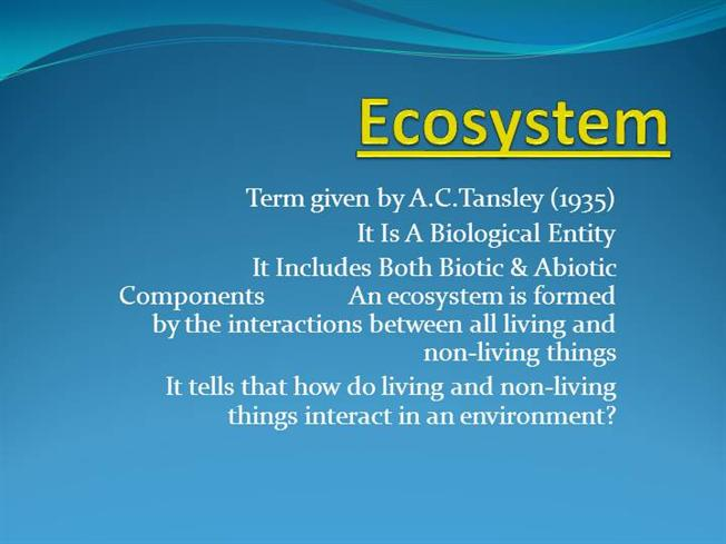 Ecosystems Ppt by DrKMIshwarauthorSTREAM