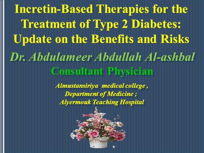 DPP-4 Inhibitors Their Potential Transient And Serious Side Effect