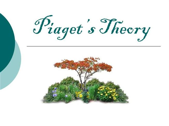 Piaget\u0027S TheoryauthorSTREAM - piaget's theory