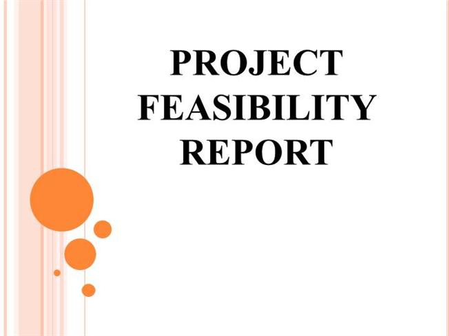 PROJECT FEASIBILITY REPORTauthorSTREAM