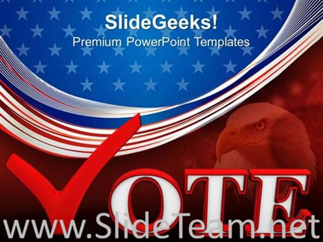 ELECTION VOTE US ELECTIONS POWERPOINT THEME-PowerPoint Template