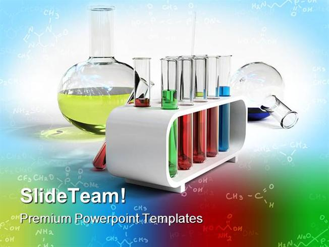 Flasks And Test Tubes Science Powerpoint Templates And Powerpoint - science powerpoint template