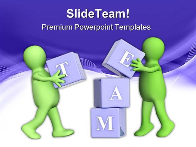 Success Teamwork Powerpoint Templates And Powerpoint Backgrounds P
