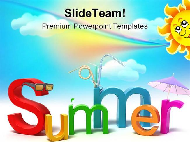 Summer Holidays Powerpoint Templates And Powerpoint Backgrounds Pp - summer powerpoint template