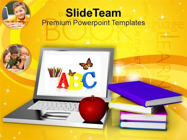 Modern Education And Online Learning Food Powerpoint Templates PPT