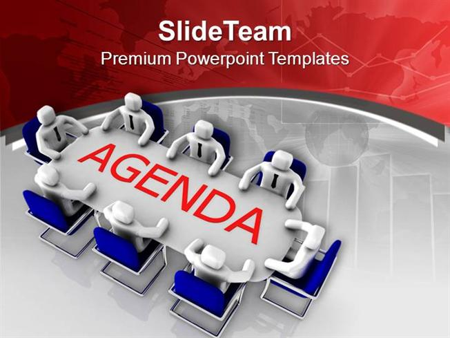 Solve the Agenda in Team Meeting Powerpoint Templates PPT Themes A - meeting agenda template powerpoint
