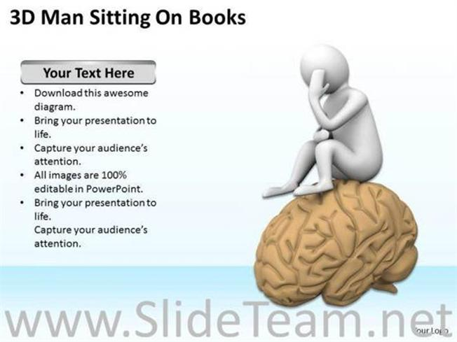 CREATIVE BRAIN POWERPOINT TEMPLATES-PowerPoint Template