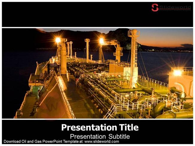 Oil And Gas Powerpoint Template \u2013 Slide WorldauthorSTREAM