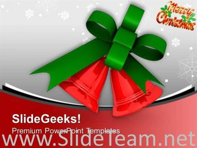 JINGLE BELLS FOR THIS CHRISTMAS POWERPOINT TEMPLATE-PowerPoint Template - christmas powerpoint template