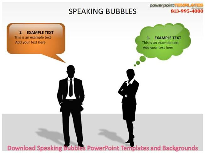 Download Speaking Bubbles Powerpoint Templates And Backgrounds - bubbles power point