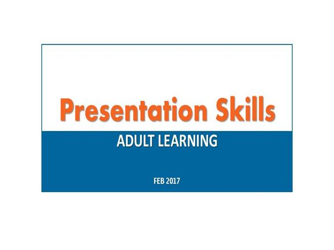 Presentation SkillsauthorSTREAM