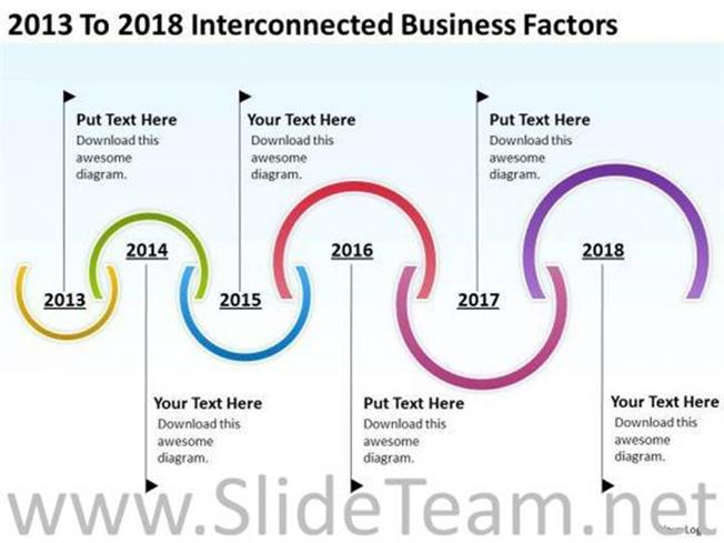 PROJECT TIMELINE BUSINESS FACTORS PPT SLIDES-PowerPoint Diagram - project timelines