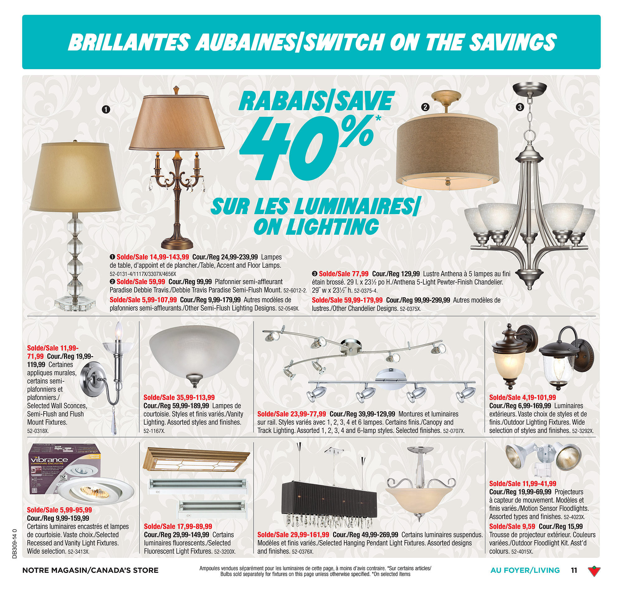 Canadian Tire Weekly Flyer Weekly Flyer Feb 21 27 - Luminaire Solde