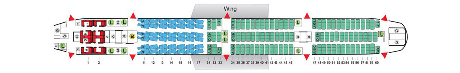 China Airlines Seating Chart - Arenda-stroy on